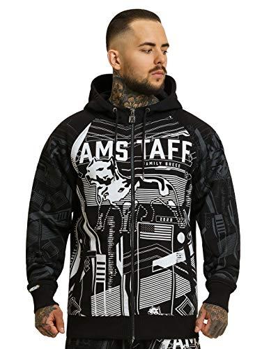 Amstaff Rovul Ziphoodie Männer Pullover 2XL