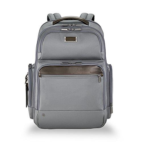 Briggs & Riley Work Large Backpack Aktentasche, 48 cm, 24.5 liters, Grau (Grey)