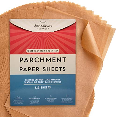 Parchment Paper Baking Sheets by Baker's Signature, 120-Count