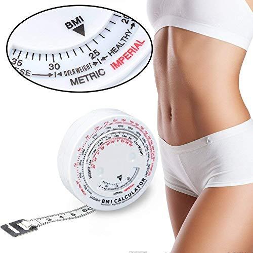 Cintas métricas Índice de masa corporal de belleza Medición de grasa redonda...