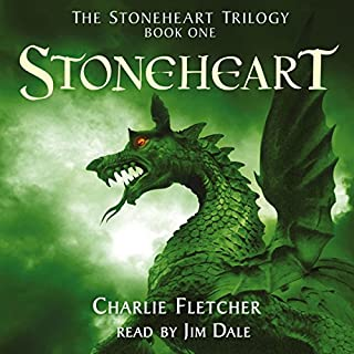 Stoneheart     The Stoneheart Trilogy, Book One              By:                                                                                                                                 Charlie Fletcher                               Narrated by:                                                                                                                                 Jim Dale                      Length: 9 hrs and 39 mins     1,388 ratings     Overall 4.1