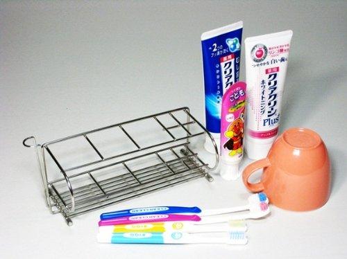 『電動歯ブラシスタンド 18-8ステンレス製 日本製』の3枚目の画像