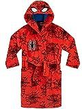 Marvel Jungen Spiderman Bademäntel Rot 146
