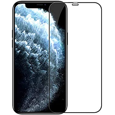 """Nillkin Tempered Glass for Apple iPhone 12 Mini (5.4"""" Inch) CP+ Pro 0.3mm Thin Glass Edge Shaterproof Full Screen Coverage Explosion Proof Screen Protect Black Color"""