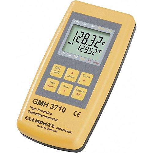 Greisinger GMH 3710 Temperatur-Messgerät -199.99 bis +850°C Fühler-Typ Pt100