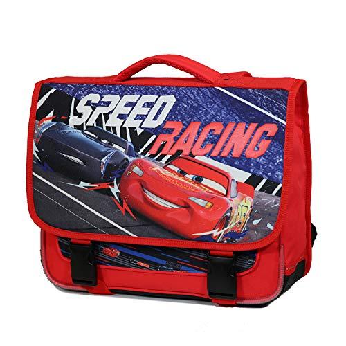 Cartella 38 cm Disney Cars Rosso Bagtrotter