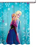 Jay Franco Disney, Frozen Anna & ELSA, Duschvorhang, Anna and ELSA Single, Shower Curtain