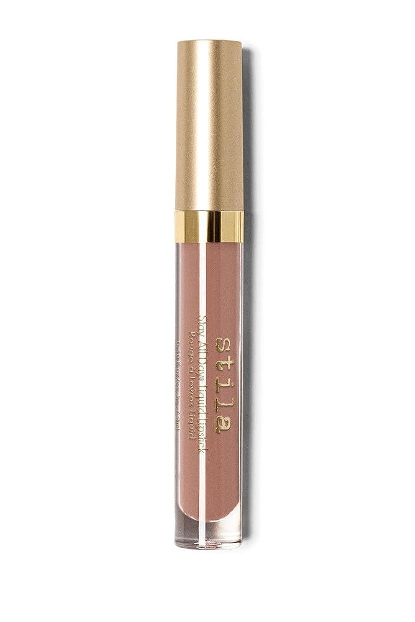 統治する技術反応するStila Stay All Day Liquid Lipstick Matte Finish - Caramello