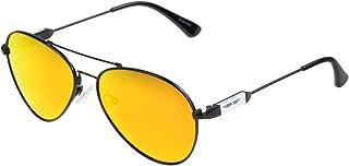 ActiveSol - Gafas de sol de aviador para niños αKids   Gafas de sol polarizadas   Gafas de aviador para niñas y niños   6 – 10 años   Protección UV400   Metal de memoria