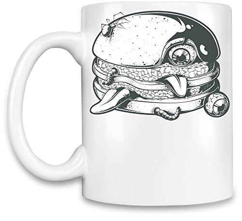 Zombie burger koffiebeker