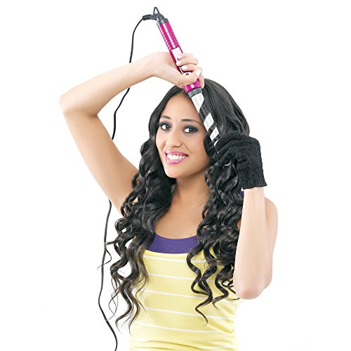 Bed Head Curlipops Tapered Curling Wand for Bouncy Natural Curls, 1 Inch (Pack of 1)