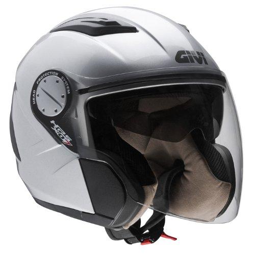 Givi HPS X07C Comfort - Casco, Unisex - Adulto, Argento laccato, XXS