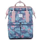 Himawari Backpack/Waterproof School Backpack 17.7' College Vintage Travel Bag for Women,Fits 15.6-17inch Laptop for Student