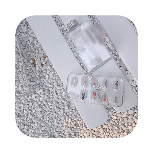 Schutzhülle für iPhone 7, 3D niedliche Kapsel Pillen Person, für iPhone XS Max XR 8 XS 6 6 S X 7 Plus, transparent, weich, TPU – Clear-for iPhone 8 Plus