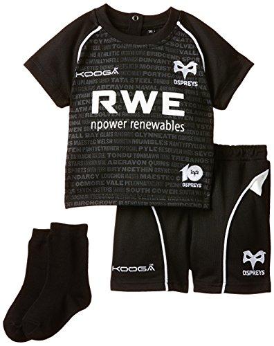 Kooga Rugby Herren-Heimtrikot der Ospreys Infant homekit, Herren, Home