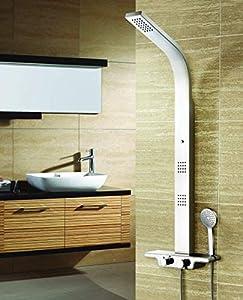 Columna de ducha hidromasaje acero inoxidable con 5 años de garantía