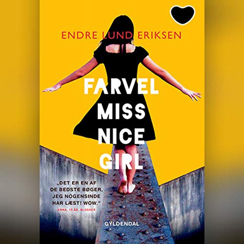Farvel Miss Nice Girl audiobook cover art