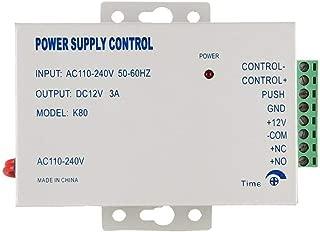 Power Supply 110-240VAC to 12VDC for for Door Access Control System & Door Intercom Electric Door Lock Video Door Phone Video intercom Power Supply Control
