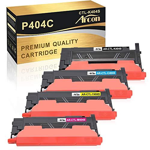 Arcon Kompatibel Toner Cartridge Replacement für Samsung Xpress C480W C480FW C430W CLT-K404S CLT-C404S CLT-M404S CLT-Y404S CLT-P404C P404C für Samsung SL C480W SL C480FW C430W C480 C430 C480FN Toner