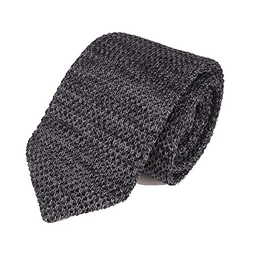 YYB-Tie Mode binden Spitz Mode-Geschäfts-Kleid Casual Wear mit Wollkrawatte Herren Knit-Bindung (Color : 07, Size : 148cm*6cm*4cm)