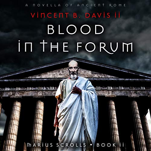 Blood in the Forum audiobook cover art