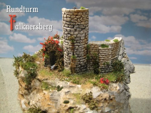 Rundturm Falknersberg, Bausatz, Spur N / Z