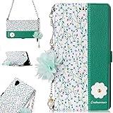 HUANGCAIXIA Accessoires de téléphone Portable for Sony Xperia L1 Motif de Fleurs Marguerite...