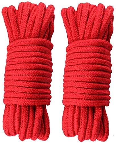 164ft Diamond Braid Nylon Rope,5 Strands Paracord Utility Rope,Multipurpose Nylon Twine 3mm 1//8