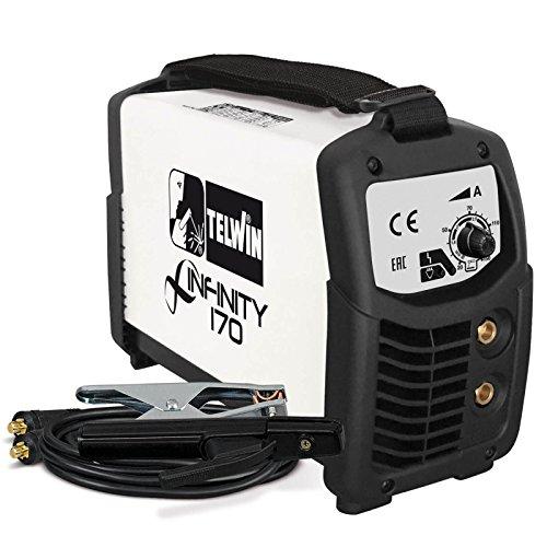 Saldatrice inverter ad elettrodo INFINITY 170 230V con accessori - Cod. 816080