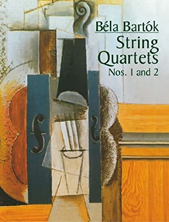 String Quartets Nos. 1 and 2 (Dover Chamber Music Scores) by Bla Bartk Music Scores(2004-10-12)