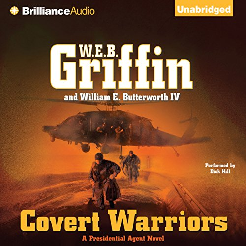 Covert Warriors audiobook cover art