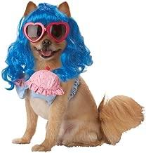 Blue/Pink_Cupcake Girl Dog Costume