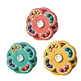 Exuberia Fidget Toys,Rotating Magic Bean Cube Double Flip Stress Toys, ADHD Anxiety Stress Relief Sensory Fidget Spinners Toy for Autistic Children Adults, Toys for Kids Or Adults