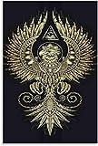 HuGuan Leinwand Druck Poster Illuminati Comics Und Picture