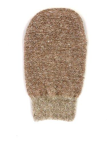 Massage Handschuh mit Kupferfäden - Für Nass, Trockenmassagen und Peelingeffekt geeignet. Bei 50°C waschbar.