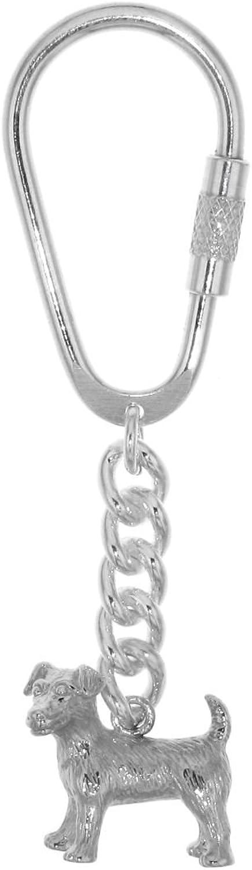 Derby Schlüsselanhänger Jack Russel-Terrier Hunderasse schwer komplett massiv echt echt echt Silber 29033 B00UVVSS6Q 81e85f