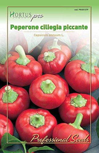 Hortus 09HPRO0137P Peperone Ciliegia Piccante, Busta PRO, 13x0.3x20 cm