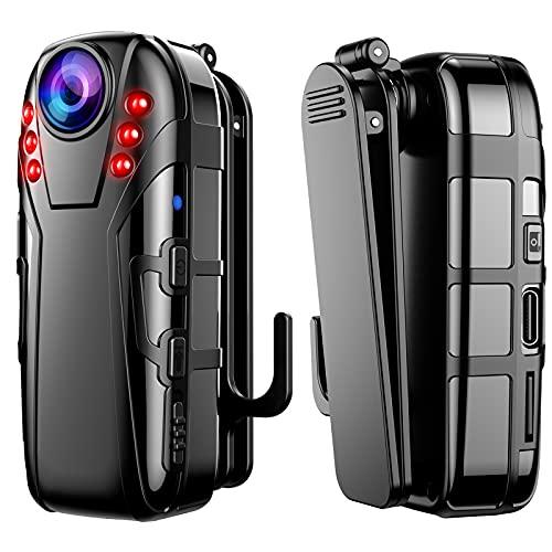 BOBLOV L02 Mini Camera, 1080P Full HD Small Body Camera, Infrared Night...