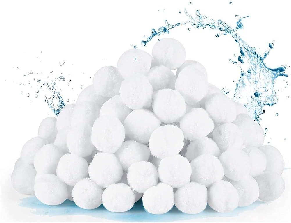 overseas ZYuan Pool Filter Balls for Eco-Fr 800g Regular dealer Sand