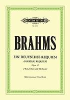 Ein deutsches Requiem op. 45: Klavierauszug