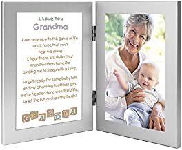 Gift for Grandmother from Grandchild, Touching Grandma Poem from Baby, Add Photo