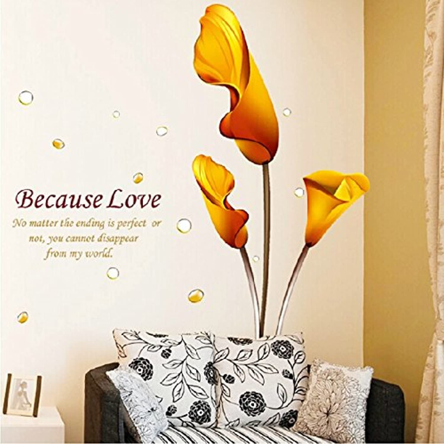 Znzbzt shoes-lin Living Room Wall Paper Art self Adhesive Background Wall Wall Removable Wall Decals