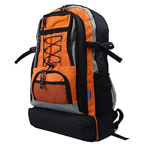 [ビアッジョ] 30L 避難リュック 防災リュック 単品 デイパック リュックサック 大容量 大きめ 30L 8213 オレンジ