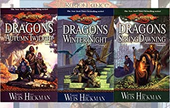 Vol. 1-3 of the Dragonlance Chronicles (Set Includes: Dragons of Autumn Twilight, Dragons of Winter Night and Dragons of S...