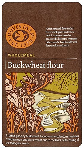 Doves Farm   Buckwheat Flour Wholegrain   3 x 1kg
