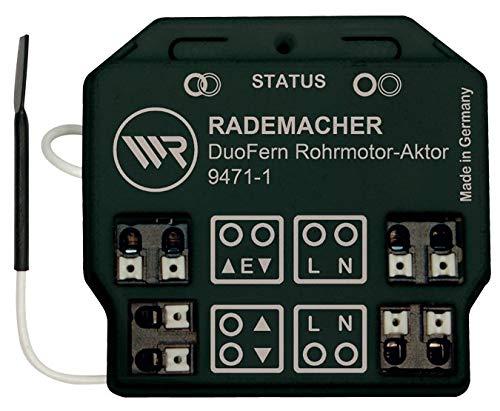 DuoFern buismotor-actuator 9471-1 - draadloze inbouw radiator voor rolluik-, rafstore- en luifelmotoren