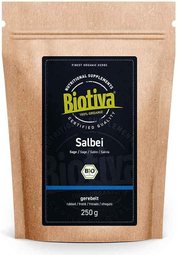 111 opinioni per Tè di salvia Bio- 250g- Salvia officinalis- diraspato- senza additivi-