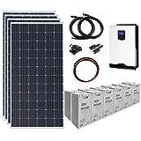 kit solar tv