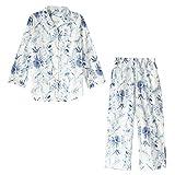 (モンシェルピジョン)Mon cher pigeon ルームウェア パジャマ 上下セット 長袖 ロングパンツ 綿100%(BOT-