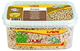 Sera Era Gravel Beige (Ø 2-4 mm) - Beige para acuarios o Grava Natural para Todos los acuarios - Libre de contaminantes - Adecuado como Grava de camarón